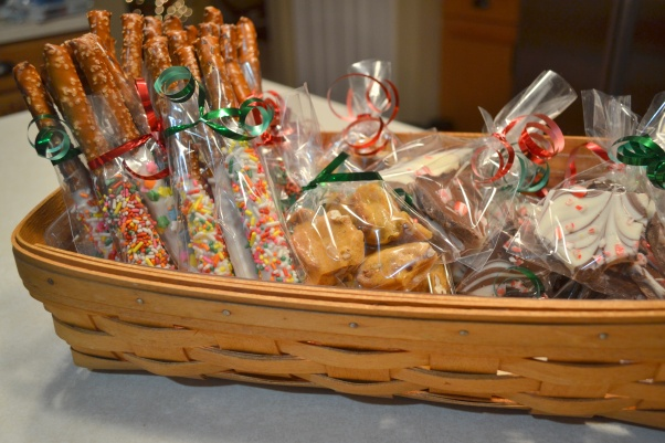 Basket of food gifts 2