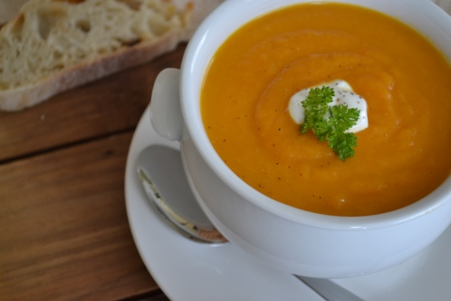 Carrot Ginger Soup 1