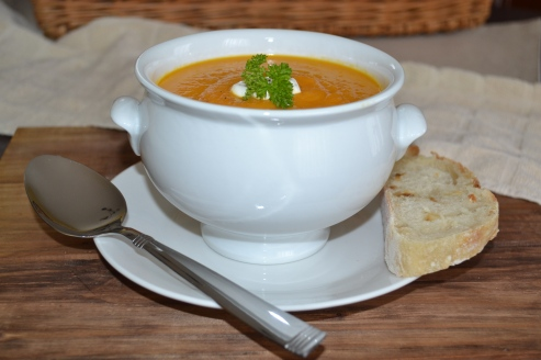 Carrot Ginger Soup 2