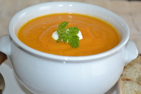 Carrot Ginger Soup 3