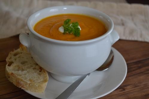 Carrot Ginger Soup 6