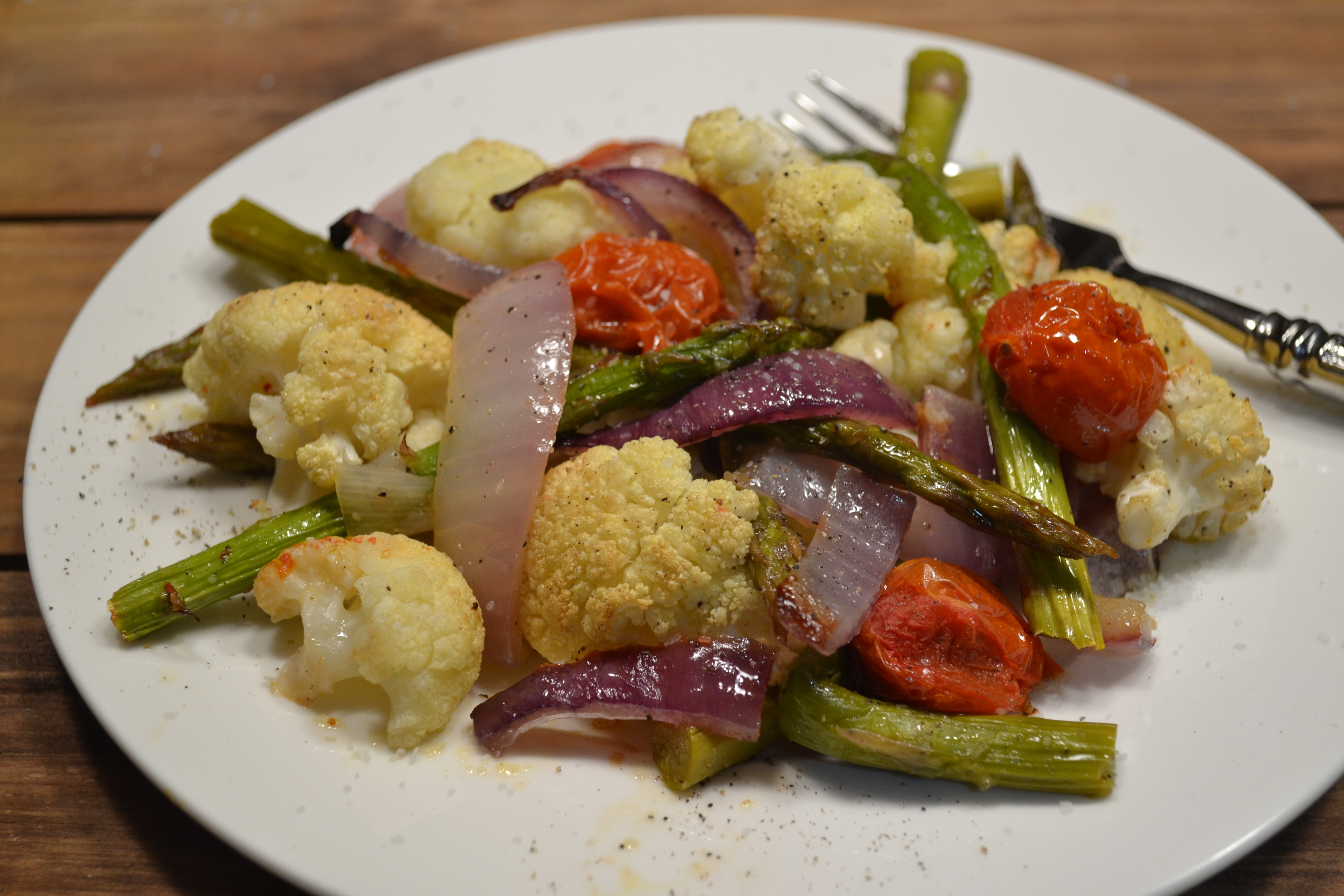 Nutritious Roasted Vegetables